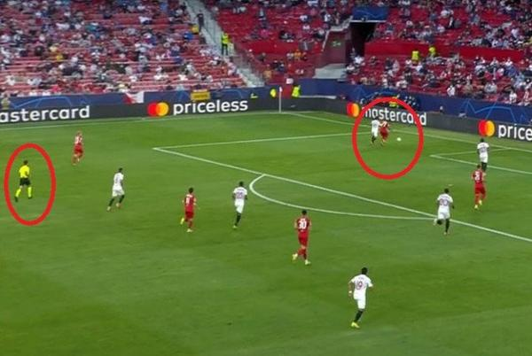 Picture for Sevilla vs Salzburg match makes history after FOUR PKs are awarded