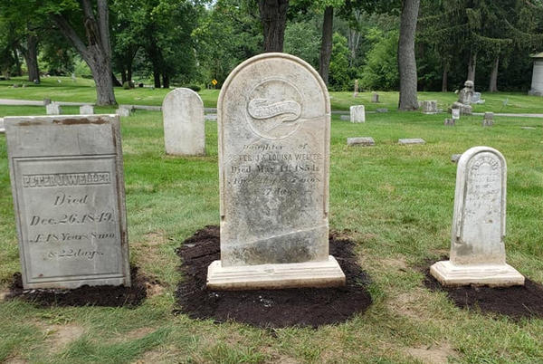 Picture for Man's headstone found in Michigan home and used to make fudge