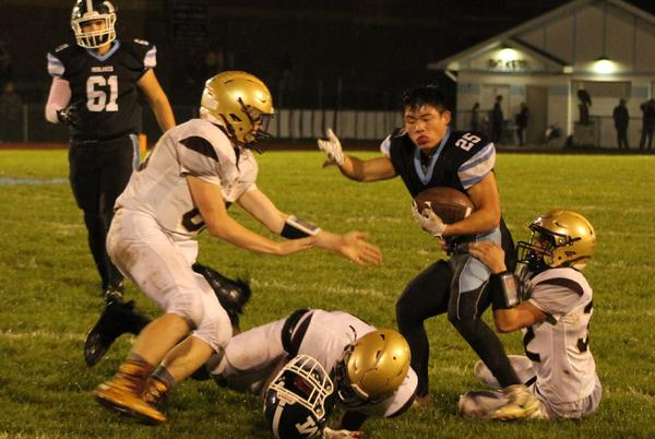 Picture for Dan-Way-Co Football: DWC wins wild one on road