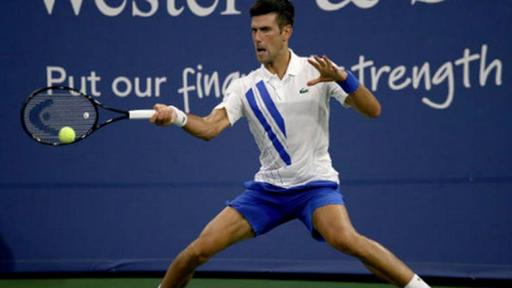 Atp Cincinnati Novak Djokovic Struggles But Beats Ricardas Berankis News Break