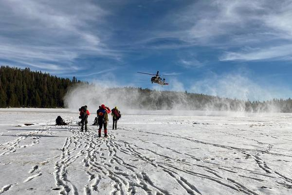 Picture for Hiker rescued after she spends 48 frigid hours in the snow, California officials say