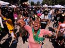 Picture for In photos: The inaugural Juneteenth holiday