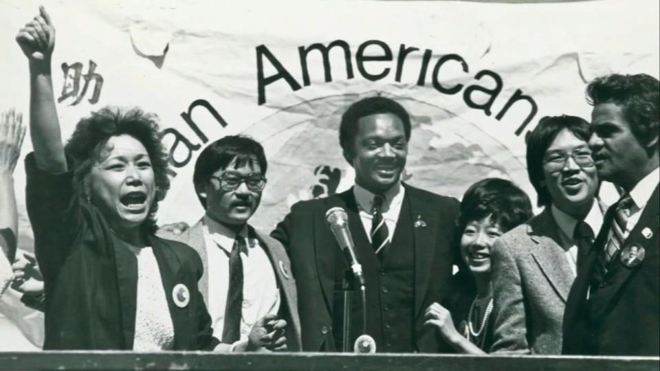 Picture for Rev. Jesse Jackson comes to SF's Chinatown to show his solidarity for AAPI community