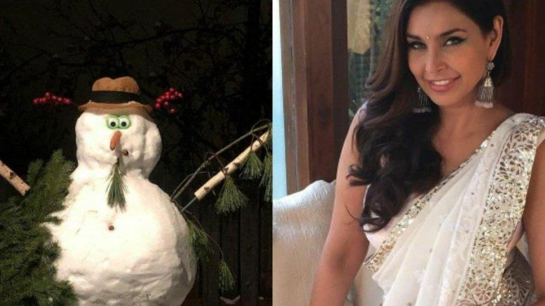Picture for Lisa Ray Shares Her Thoughts By Sharing A Picture Of A Snowmen