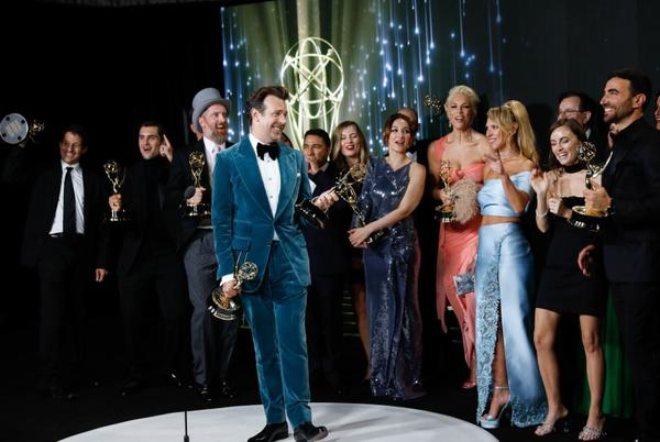 Picture for Chill, Seth Rogen. L.A. health officials say Emmys didn't violate COVID-19 rules