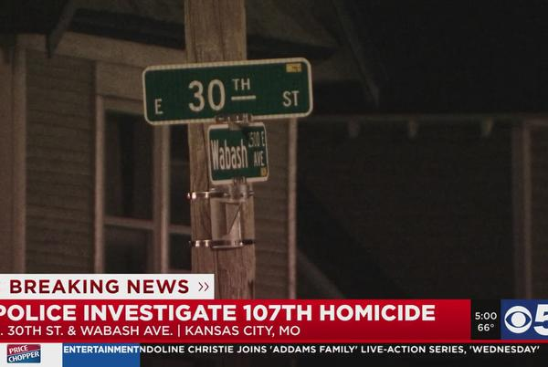 Picture for Man killed in shooting near 30th, Wabash in Kansas City
