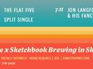 Picture for Space Heads to Sketchbook Brewing Co. with The Flat Five, Split Single and Jon Langford