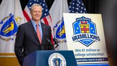 Cover for The first Massachusetts VaxMillions drawings happened Monday. Here's what to know.