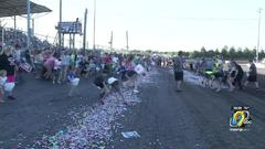 Cover for Benton County Speedway hosts world's largest candy dash