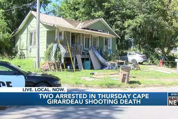 Picture for 2 arrested in deadly Cape Girardeau shooting