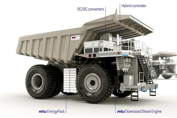 Picture for Rolls-Royce and Flanders Electric Offer Retrofit Kit for Hybridizing Mining Trucks
