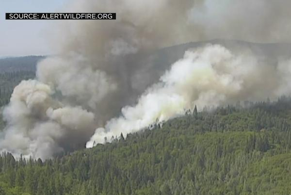 Picture for River Fire Near Colfax Grows To 100 Acres As It Forces Residents To Evacuate