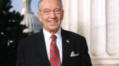 Cover for Sen. Grassley Comments on Iowa Trump Rally Appearance