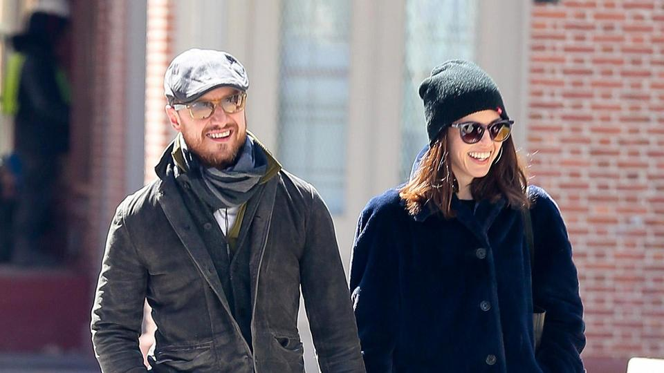 Picture for Who is Lisa Liberati? James McAvoy's 'wife' and former PA to M. Night Shyamalan