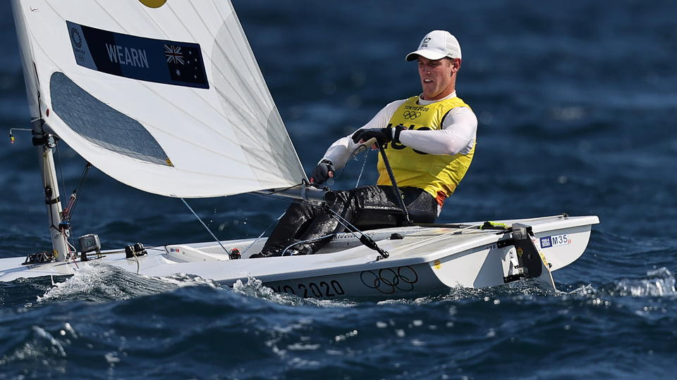 Picture for Sailing-Australia's Wearn and Denmark's Rindom strike sailing gold