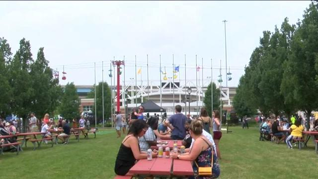 Picture for First MKE Food Truck festival held at Summerfest grounds
