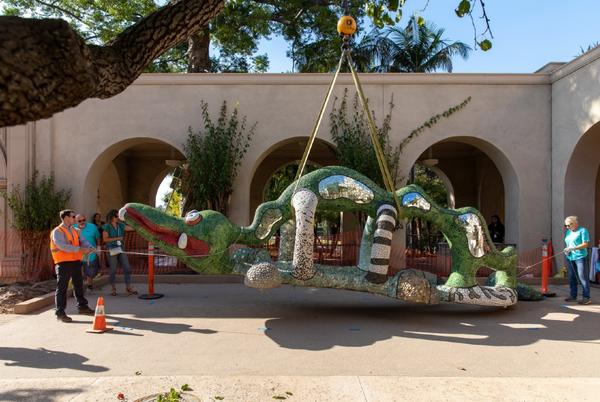 Picture for Beloved 'Nikigator' Returns to Renovated Mingei Museum in Balboa Park