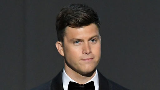 Colin Jost Of Snl Knows You Re Laughing At His Very Punchable Face News Break