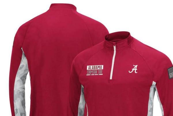 Picture for Alabama Crimson Tide camo-style gear on sale in Operation Hat Trick campaign