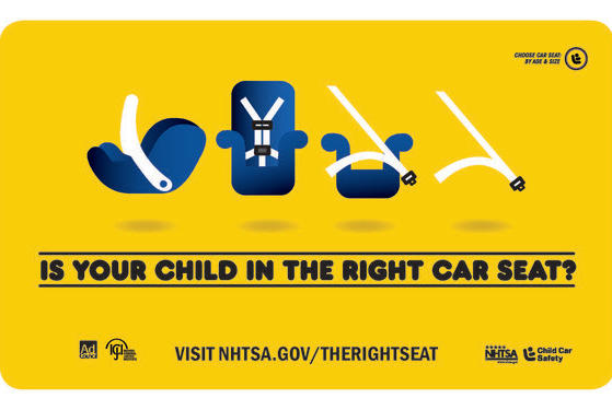Picture for Child Passenger Safety Week Urges Use of Safety Seats, Car Seat Checks