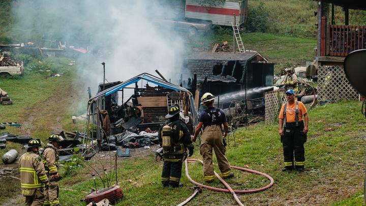 Cover for Man, 40, charged with arson and domestic violence after Oxford Township fire