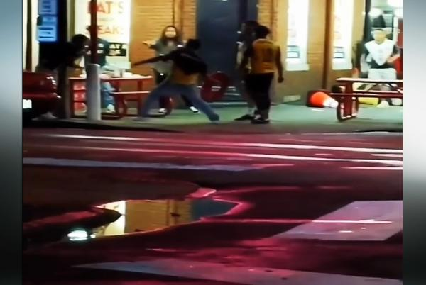 Picture for Witness video shows early moments of deadly fight outside Pat's King of Steaks; 4 suspects sought