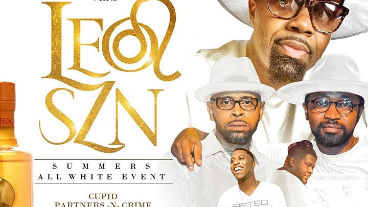 """Picture for New Orleans Live Entertainment: """"Summer's All White Affair"""" by LEO SZN"""