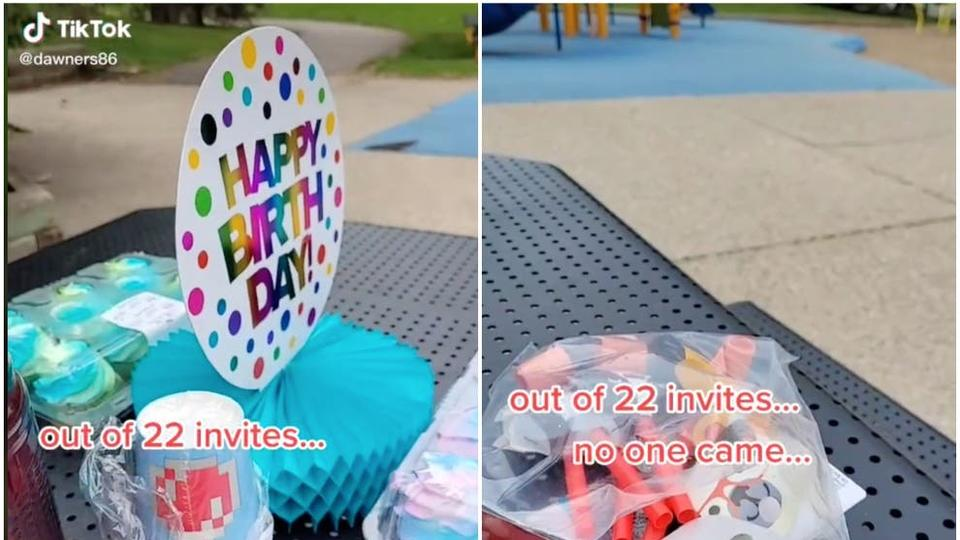 Picture for Mum shares heartbreak after no-one turns up to son's 6th birthday party
