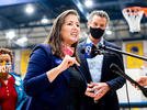 Picture for Oakland Mayor Libby Schaaf shows support for Wednesday's South Bay tragedy