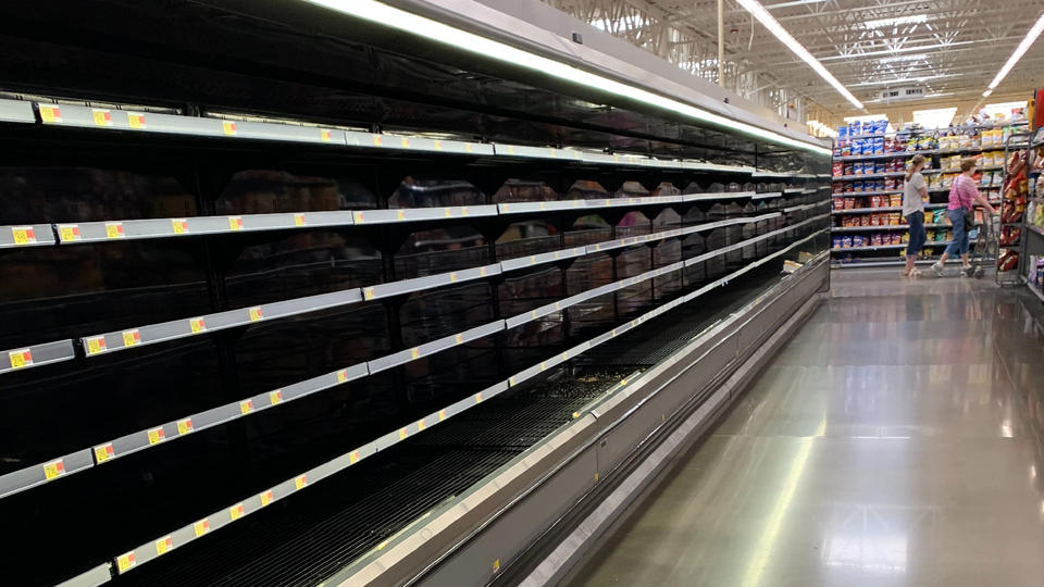 Picture for Recent Storms Leave Aisles Bare at the O'Fallon Walmart