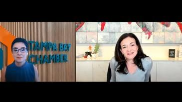 Picture for Facebook's Sheryl Sandberg praises Tampa small businesses in Chamber chat