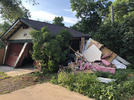 Picture for Car crashes into Fort Collins garage