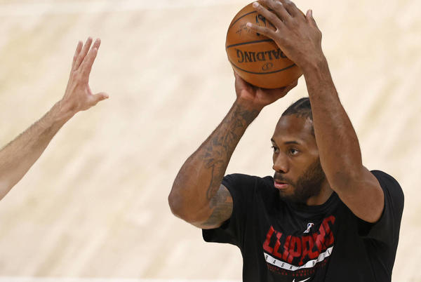 Picture for Clippers' Ballmer unsure whether Kawhi will play in 2021-22
