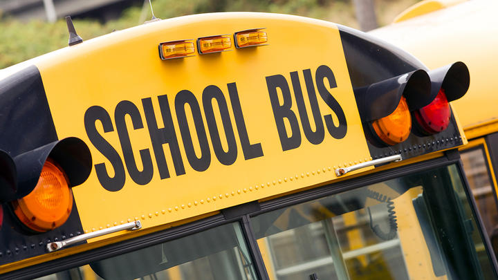 Cover for Nassau County school bus driver arrested for DWI with kids onboard