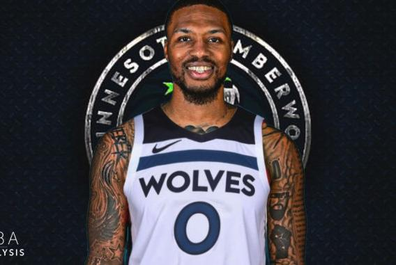 Picture for This Blazers-Timberwolves Trade Is Headlined By Damian Lillard