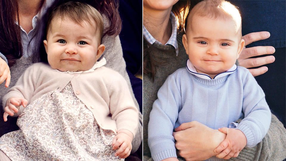 Prince Louis Is The Spitting Image Of His Older Sister Princess