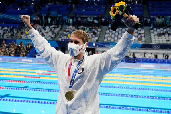 Picture for Team USA wins 10 medals on Day 2 of Tokyo Olympics, but the specter of COVID-19 looms