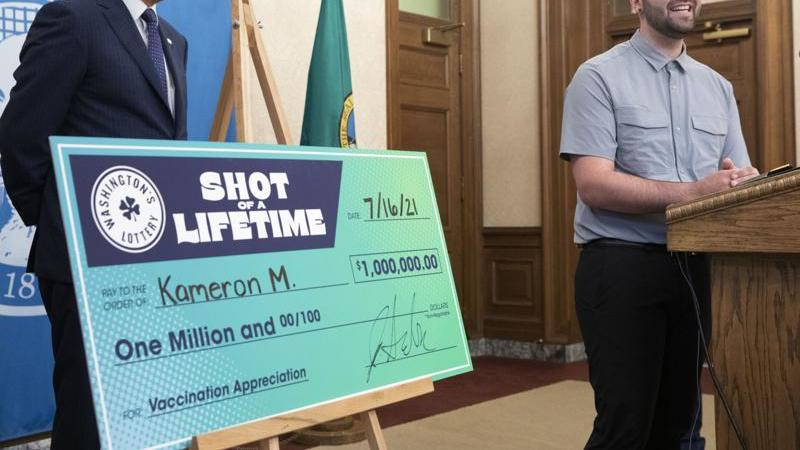 Picture for Motorcycle mechanic wins $1 million vaccine lottery prize