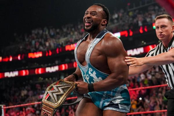Picture for Big E on Winning His First WWE Championship