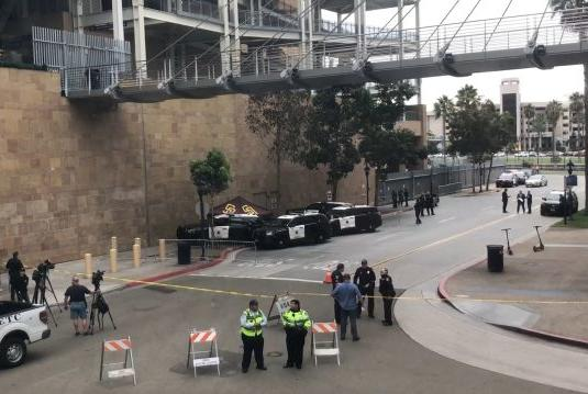 Picture for Mother, child dead in fall from Petco Park concourse dining area: SDPD