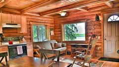 Cover for This Cozy Cabin Is The Most Bookmarked Airbnb In Alaska And It's So Easy To See Why