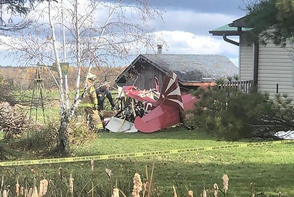 Picture for Siblings killed after crashing plane in Wisconsin