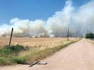 Picture for Crews battle large wheat field fire in Harvey County