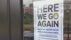 Cover for Dallas Restaurant Says 'Here We Go Again' Requiring Customers To Mask-Up