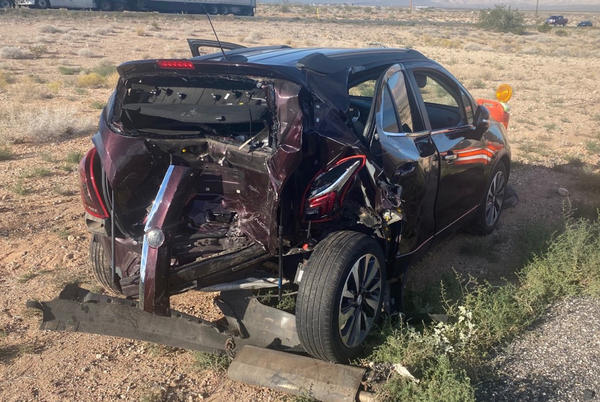 Picture for 11 people hospitalized after I-15 crash near Utah border in Arizona