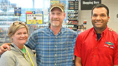 Cover for $14 million scratch off lottery ticket sold in Boonville