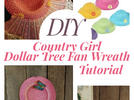 Picture for Dollar Tree Country Girl Wreath