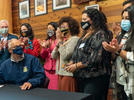 Picture for At the Duwamish longhouse, a law is signed requiring environmental justice from state agencies