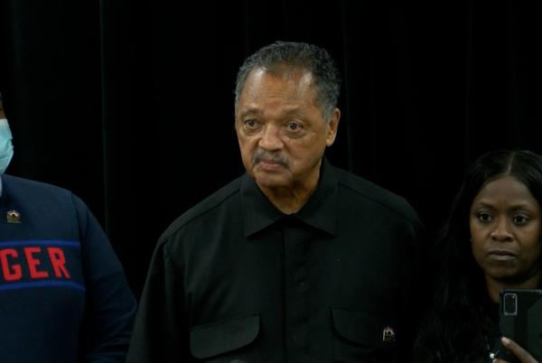 Picture for Rev. Jesse Jackson disagrees with Jelani Day's cause of death, Carmen Day says her son didn't 'drown himself'