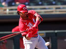 Picture for Reds news: Jose Garcia and Mark Payton headline alternate site roster